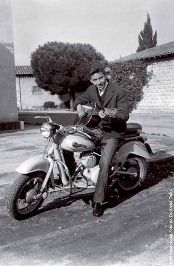 Fabrizio in Sardegnanel Natale 1955-56