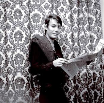 Fabrizio a Villa Paradiso, Genova 1968