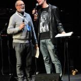 (da sinistra) Piero Cademartori e Massimo Cotto alla XIV edizione del Premio De André