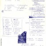 Appunti di Fabrizio De André preparatori alla stesura diPrinçesa(Fondazione Fabrizio De André Onlus)