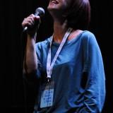 Cristina Donà, alla quale è stato assegnato il Premio De André per la Reinterpretazione dell'opera di Fabrizio