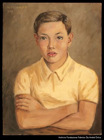 Fabrizio visto da Mary Diakoff, 1949