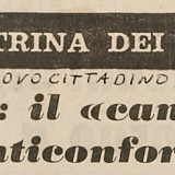 Estratto da «Il Nuovo Cittadino», 19 agosto 1965