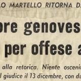 Titolo di un articolo di g.d.c., estratto da «Il Corriere Mercantile», 1 dicembre 1967