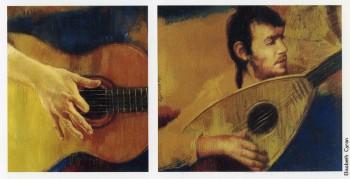 Fabrizio visto da Elisabeth Cyran, pastello su cartone, 2000. Da Elisabeth Cyran, «Ritratti», Circolo Artistico Tunnel, 2000.