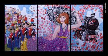 Silvia Ballardini, «Bocca di rosa», copic su carta, 2010