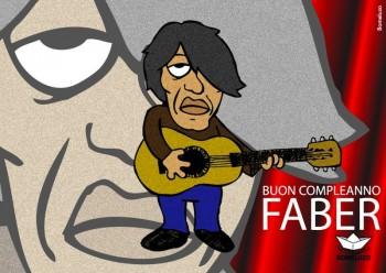 Fabrizio visto da Bomeluzo, Festival «Buon Compleanno Faber 2014»