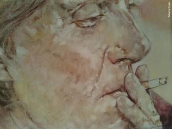 Fabrizio visto da Erberto Durio, olio su tela, 2015/16