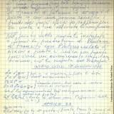 Autografo di Fabrizio sul  «Watergate» (Fondazione Fabrizio De André Onlus)