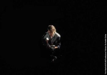 Fabrizio durante il tour 1981/82