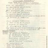 Appunti di Fabrizio De André preparatori alla stesura diSmisurata preghiera(Fondazione Fabrizio De André Onlus)