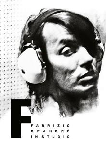 Cover Fabrizio De André - In Studio. Foto di Luca Greguoli Venini