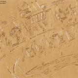 Il percorso della mostra (Disegno Studio Azzurro)